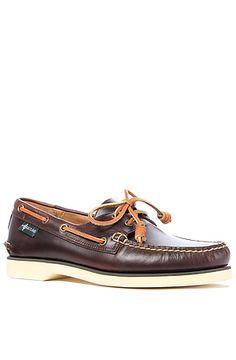 bd8afc5bce66 The Washburn 1955 2-Eye Boat Shoe in Oak Leather by Eastland 1955 Eastland  Shoes