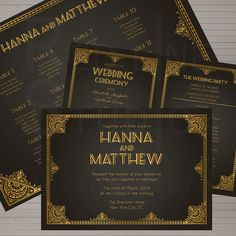 Hey, I found this really awesome Etsy listing at https://www.etsy.com/listing/178339091/wedding-stationery-set-great-gatsby