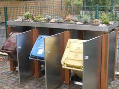 Mülltonnen-Verkleidung