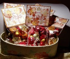 Thanksgiving Favors by NANCYRUTH - Cards and Paper Crafts at Splitcoaststampers
