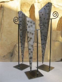 Metal art sculpture by Holly Lentz Abstract by onlyart76 on Etsy, $199.00