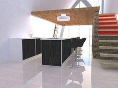 Regina Victoria Cocina y escaleras del loft