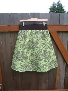 DIY Maternity Skirt
