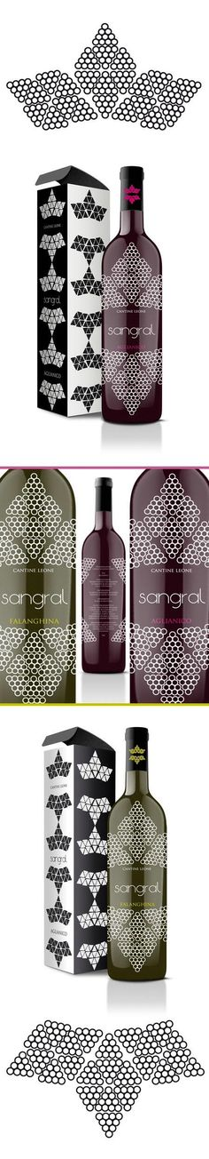 Fascinated by the design on this wine #packaging how about you? PD