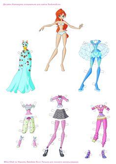 ¡Viste a Bloom con la ropa de la 6º temporada! Dress up Bloom with the clothes of the 6º season! http://poderdewinxclub.blogspot.com.ar/2014/01/viste-bloom-con-la-ropa-de-la-6.html