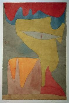Fraeulein, 1934 - Paul Klee (Swizterland, 1879-1940)