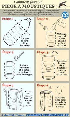 Comment Faire Un Piège à Moustiques Super Efficace En 6 Étapes.