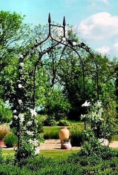 #Gardman black #metal #gothic garden & rose arch archway,  View more on the LINK: http://www.zeppy.io/product/gb/2/301238224059/