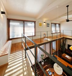 【SUUMO】神奈川県 Sさんのリフォーム実例 - LOHAS studioの施工実例 | リフォーム情報 Loft House, House Roof, Open Ceiling, Industrial Apartment, Container House Design, Tiny House Living, Small Room Bedroom, Loft Spaces, House Plans