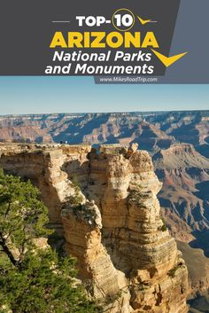 Visiting Arizona? Don't miss this top-10 list of Arizona National Parks and Monuments [video included].   #arizona #visitarizona #arizonanationalparks #nationalparks #travel #roadtrip #roadtrip