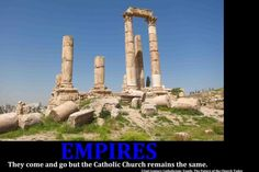 The Church is not an Empire - because empires do not last until the end of time