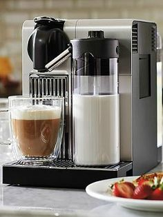 Delight your guests with a delicious, authentic espresso after dinner with the Nespresso Latissima Pro Espresso Maker; sure to provide the perfect cup every time.