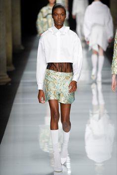 Sfilata Francesco Scognamiglio Milano - Collezioni Primavera Estate 2017 - Vogue