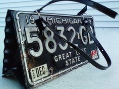 ysl patent clutch bag - License Plate Purse. Different than most that I have seen, I like ...
