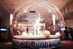 Bailarina en burbuja