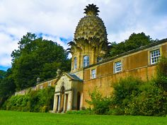 Dunmore Pineapple House in Scotland.