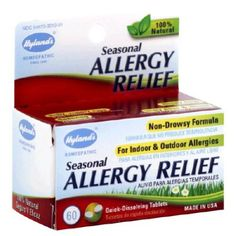 Amazon.com: Hylands Homeopathic, Allergy Relief, 60 Tab: Health & Personal Care