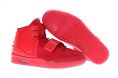 Women Air Yeezy 2 Red October Glow in the Dark  decf117334