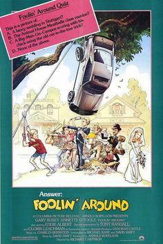 'foolin' around' movie poster.