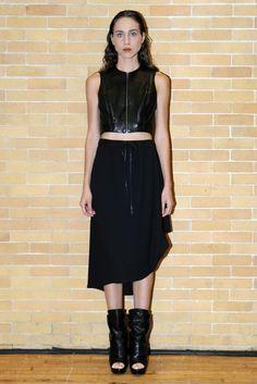 Love the skirt! Odd RTW Spring 2014