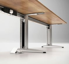 Domino Beam Rectangular Desks Brand Lee & Plumpton | Domino Beam  Domino Beam is a complete cable managed solution. The contemporary design uses a fixed top and shared leg frame, offering maximum flexibility and space efficient desking for the modern office.