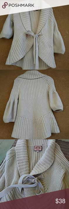 Juicy couture 3/4 sweater No rips or stains. Juicy Couture Sweaters Shrugs & Ponchos