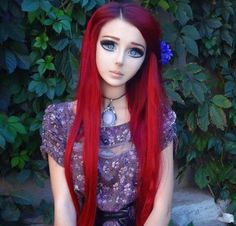 This is a real person who has had surgery to look like an Anime ...