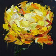 Loving these flower paintings by Carmelo Blandino!