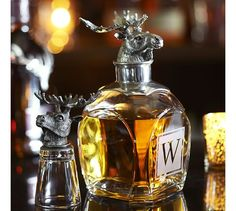Moose Decanter
