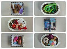 Cestas de tesoros – Treasure baskets