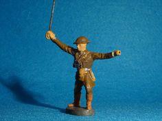 Elastolin Hausser Englischer Soldat 3 im 7,5 cm Maßstab | eBay