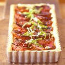 Try the Tomato and Basil Tart Recipe on williams-sonoma.com/