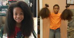 Este niño de 8 años se dejó crecer el pelo durante 2 años para hacer pelucas para niños con cáncer | Bored Panda