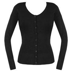 VOODOO VIXEN black knitted cardigan £17.90