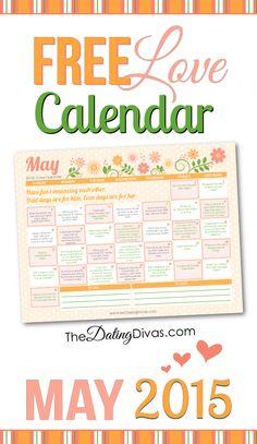 May Love Calendar 2015