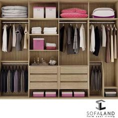 fine closet design, will be credited with to the beautiful interior of your home. Wardrobe Design Bedroom, Master Bedroom Closet, Bedroom Wardrobe, Wardrobe Closet, Built In Wardrobe, Walk In Closet, Closet Space, Master Suite, Capsule Wardrobe