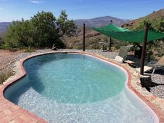 Valor Villa Rentals in Spain | Spacious casita with private pool, extensive gardens and fabulous views near Valor #spain #swimmingpool