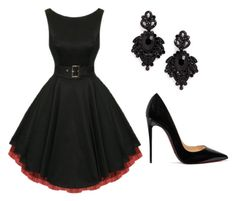 """""""Untitled #144"""" by paolaporoj on Polyvore featuring Christian Louboutin and Tasha"""