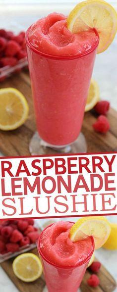 Lemonade Slushie Raspberry Lemonade Slushie Recipe: the recipe seems to have left out the vodka.Raspberry Lemonade Slushie Recipe: the recipe seems to have left out the vodka. Non Alcoholic Drinks, Fun Drinks, Yummy Drinks, Yummy Food, Refreshing Drinks, Slushy Alcohol Drinks, Mixed Drinks, Holiday Drinks, Cold Drinks