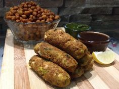 Protein Pack Snack – Kala Channa Shammi Kabab Kala Channa or Black Chickpeas are a rich source of protein. It is low in fat, high in dietary fiber and rich in vitamins and minerals. Kala Chan…