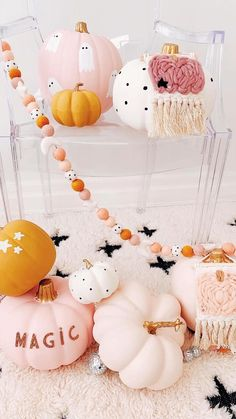 Pink Halloween, Halloween Inspo, Halloween Fashion, Halloween Food For Party, Diy Halloween Decorations, Halloween Pumpkins, Halloween Crafts, Kawaii Halloween, Halloween 2020