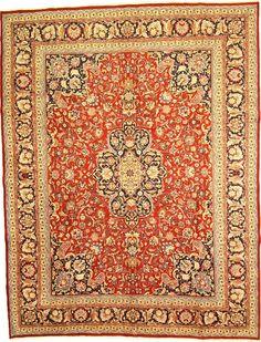Red 9' 10 x 12' 6 Mashad Rug | Persian Rugs | eSaleRugs