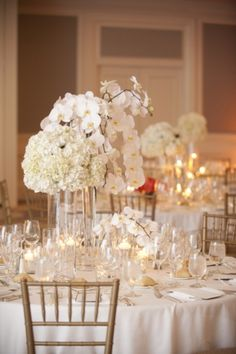 Beautiful all white wedding. Photographed by: Robin Nathan Photography