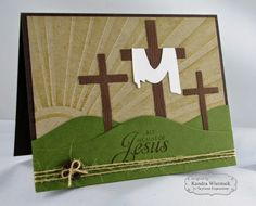 Kendra's Card Company: Taylored Expressions Sneak Peek Day #2: Old Rugged Cross & At the Cross