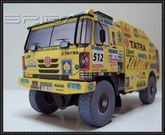 Dakar 2007 - Tatra Team Truck Paper Model Free Download - http://www.papercraftsquare.com/dakar-2007-tatra-team-truck-paper-model-free-download.html