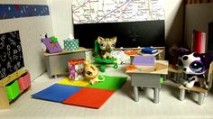 How to Make an LPS Classroom: Doll DIY
