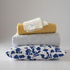 Diamond Ticking Quilt | Blankets + Throws | Bed+Bath #slowdownwithschoolhouse