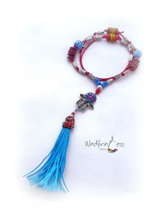 Tassel Necklace, Beaded Bracelets, Jewelry Making, Jewellery, Unique, Handmade, Fashion, Moda, Jewels