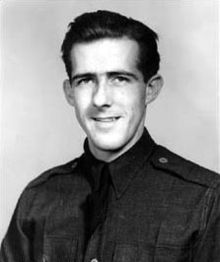 Thomas Buchanan McGuire Jr. (August 1, 1920–January 7, 1945) was one of the most decorated American combat pilots of World War II. He was the second highest scoring American ace of the war 38 kills, and was awarded the Medal of Honor posthumously. McGuire was memorialized by the renaming of Fort Dix Army Air Force Base in Burlington County, New Jersey, to McGuire Air Force Base in 1948.