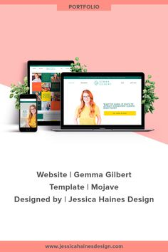 Gemma Gilbert is a business coach for mums in service-based businesses. When I first spoke with Gemma, she had DIY'd her website but wasn't in love with it and knew she needed a website revamp. She wanted something clean and simple that would help her grow her business, but didn't have the time to figure out how to get the website she wanted. Click through to see Gemma's new website and more about how it came together | www.jessicahainesdesign.com Simple Website, Grid Layouts, Banner Images, Professional Website, Graphic Design Projects, Design Process, Portfolio Design, How To Find Out, Branding Design